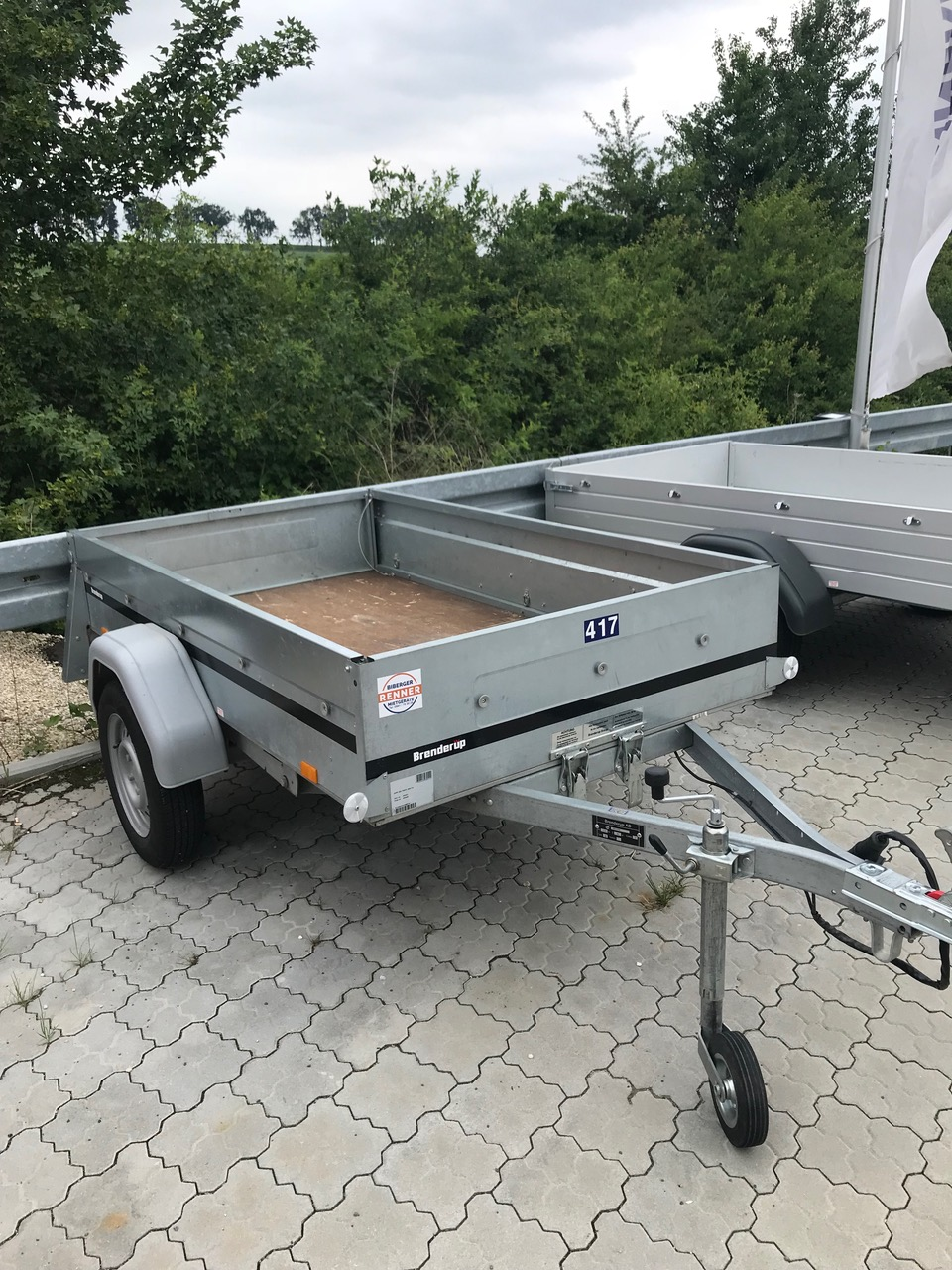 Kipp-Anhänger Länge 2,03
