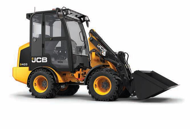 Radlader JCB 403