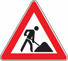 StVO Verkehrsschild inkl. Mast und Befestigungsklammer